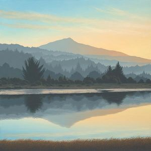 Mt. Tamalpais from Corte Madera Creek • 2013