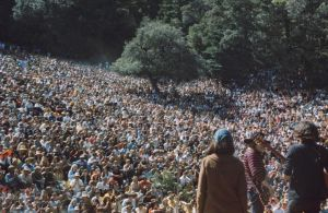 Grace Slick, Jack Casady, and Jorma Kaukonen of Jefferson Airplane @ Fantasy Fair & Magic Mountain Music Festival 1967 Mountain Theater, Mount Tamalpais