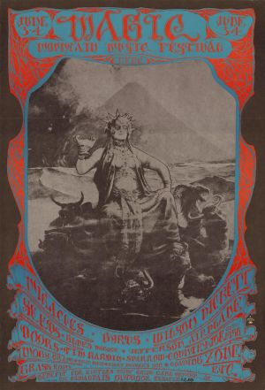 Magic Mountain Music Festival Poster 1967