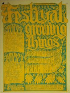 Festival of Growing Things Poster 1967